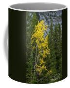 Yellow And Green Coffee Mug