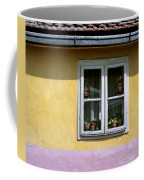 Yellow And Pink Facade. Belgrade. Serbia Coffee Mug