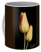 Yellow And Red Tulips  Coffee Mug