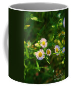 Yellow And White Dasies Coffee Mug