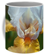 Yellow And White Iris Coffee Mug