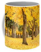 Yellow Autumn Wonderland Coffee Mug
