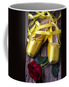 Yellow Ballet Shoes Coffee Mug by Garry Gay