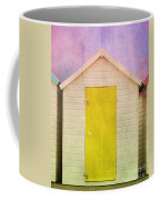 Yellow Beach Hut Coffee Mug