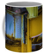 Yellow Beams Versiontwo Coffee Mug