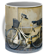 Yellow Bicycle In Copenhagen Coffee Mug