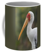 Yellow-billed Stork Coffee Mug