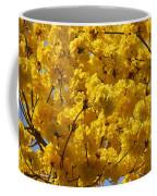 Yellow Blossoms Of A Tabebuia Tree Coffee Mug