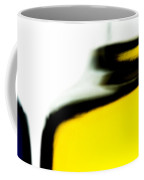 Yellow Blue Coffee Mug by Bob Orsillo
