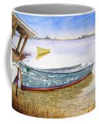 Yellow Boat II Coffee Mug