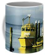 Yellow Boats Coffee Mug by Ellen Henneke