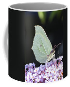Yellow Brimstone Coffee Mug