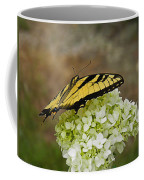 Yellow Butterfly 2 Coffee Mug