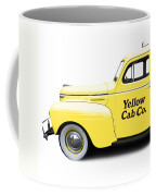 Yellow Cab Square Coffee Mug
