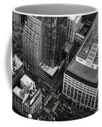 Yellow Cabs - Bird's Eye View Coffee Mug