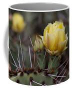 Yellow Cactus Coffee Mug