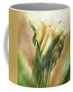 Yellow Callas Coffee Mug