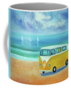 Yellow Camper Coffee Mug