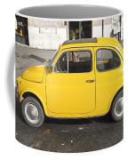 Yellow Car Coffee Mug