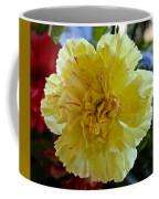 Yellow Carnation Delight Coffee Mug