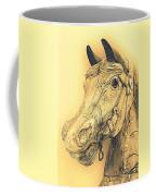Yellow Carousel Horse Coffee Mug