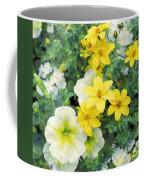 Yellow Cascade Coffee Mug