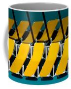 Yellow Chairs Reflected Coffee Mug