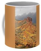 Yellow Colored Rock Along The Apache Trail Coffee Mug