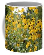 Yellow Cone Flowers Coffee Mug