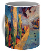 Yellow Cypress Coffee Mug
