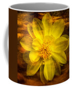 Yellow Dahlia Under Water Coffee Mug