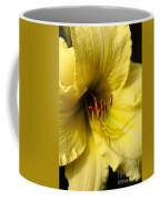 Grace Yellow Day Lily Art Coffee Mug