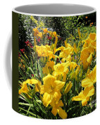 Yellow Daylilies Coffee Mug