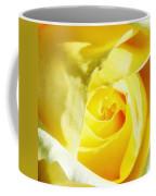 Yellow Diamond Rose Palm Springs Coffee Mug