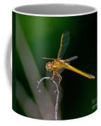 Yellow Dragonfly Coffee Mug