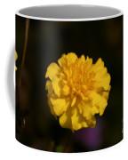 Yellow Fall Flower Coffee Mug