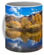 Yellow Fall Reflections Coffee Mug
