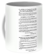 Yellow Fever, 1793 Coffee Mug