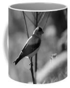 Yellow Finch B-w Coffee Mug