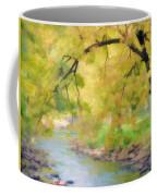 Yellow Flow Coffee Mug