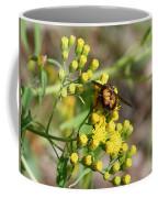 Yellow Flower Bee Coffee Mug