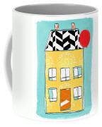 Yellow Flower House Coffee Mug