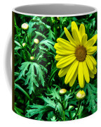 Yellow Flower Of Spring Coffee Mug