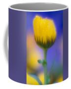 Yellow Flower With Dew Drops Coffee Mug