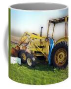 Yellow Ford Tractor Coffee Mug