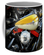 Yellow Harley Coffee Mug by Lainie Wrightson