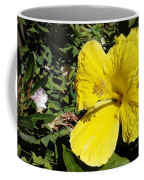 Yellow Hibiscus For Mom Coffee Mug