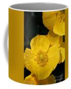 Yellow Iceland Poppy Coffee Mug