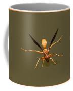 Yellow Jacket Wasp Coffee Mug