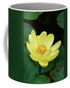 Yellow Lotus Coffee Mug